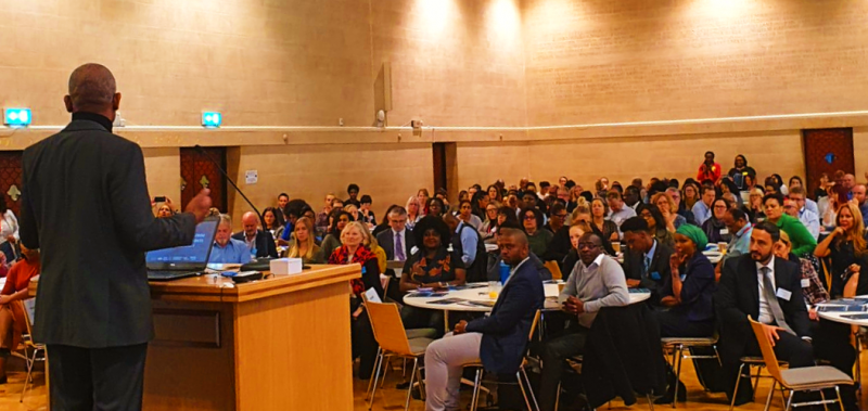 Photo of race and the city conference